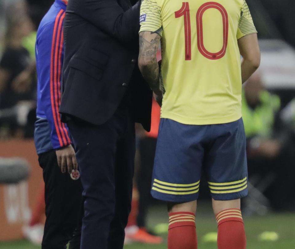 James Rodríguez hoy: temas para hablar con Carlos Queiroz | Selección Colombia 1