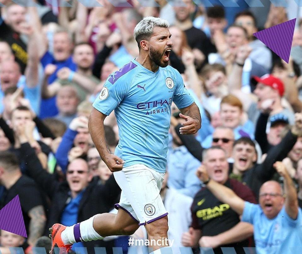 Sergio Aguero y su gol 400, video del tanto y detalles en Premier League 2019 | Premier League 2