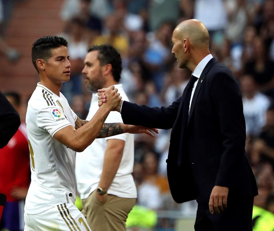 Zidane ha vuelto a hundir a James Rodríguez, crítica en Real Madrid | Colombianos en el Exterior 1