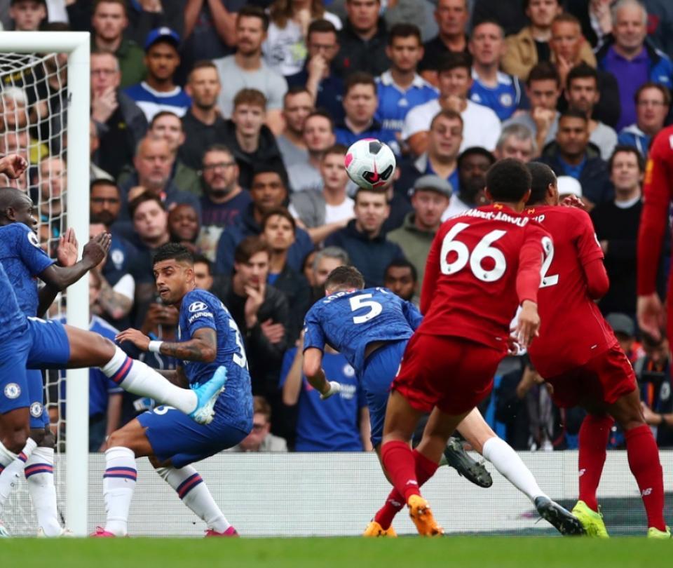 Un laboratorio de manual: así fue golazo de Liverpool contra Chelsea 2