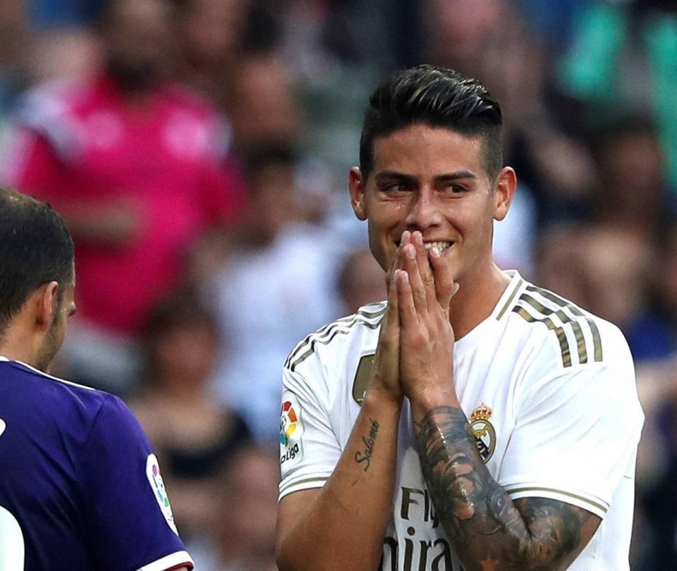 James Rodríguez hoy: podría ser titular en Real Madrid vs Mallorca 2019 | Colombianos en el Exterior 1
