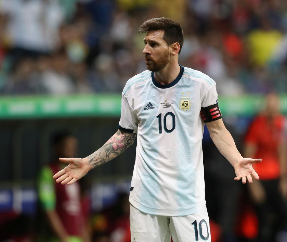 Messi confesó y criticó: contó errores de la actitud de los argentinos 1
