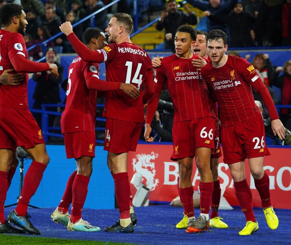 Liverpool vs Leicester: goles de la victoria en la Premier League | Premier League 2