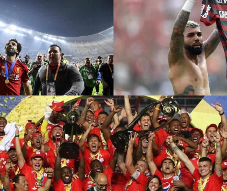 Los mejores momentos del fútbol de 2019 en Copa Libertadores, Liga Águila, Copa América, Champions League y Superliga   Otras Ligas de Fútbol 2