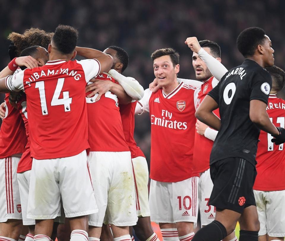 Arsenal venció a Manchester United y lo hundió en la crisis en Premier League | Premier League 2