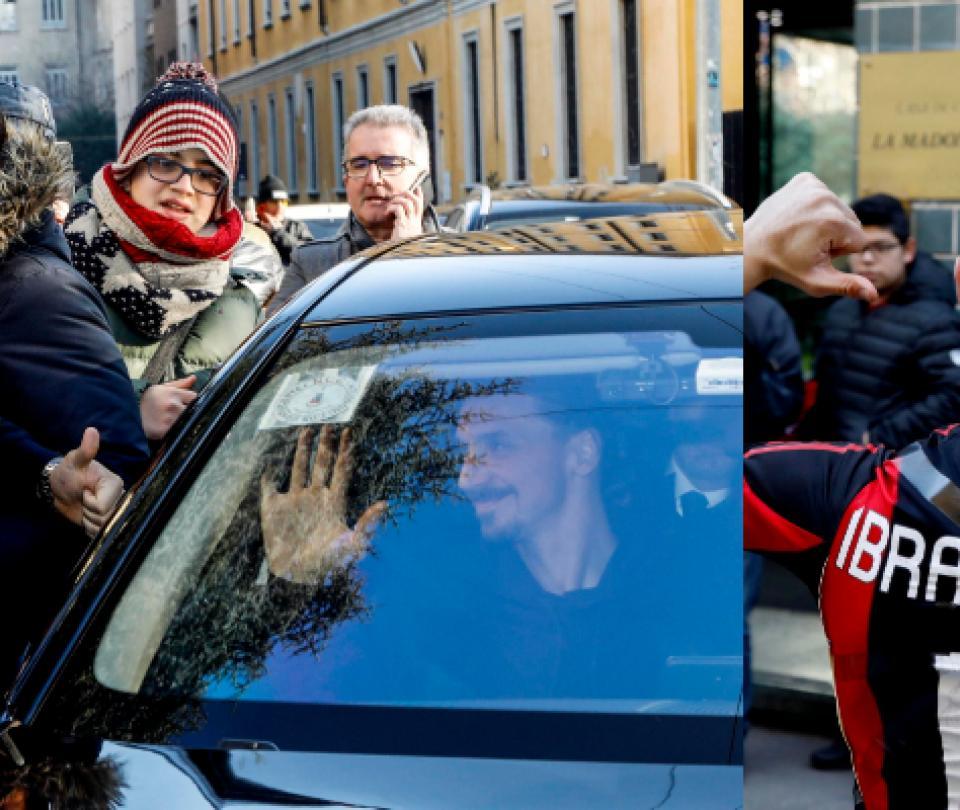 ¿El salvador esperado? Zlatan desata la locura entre hinchas del Milan 2