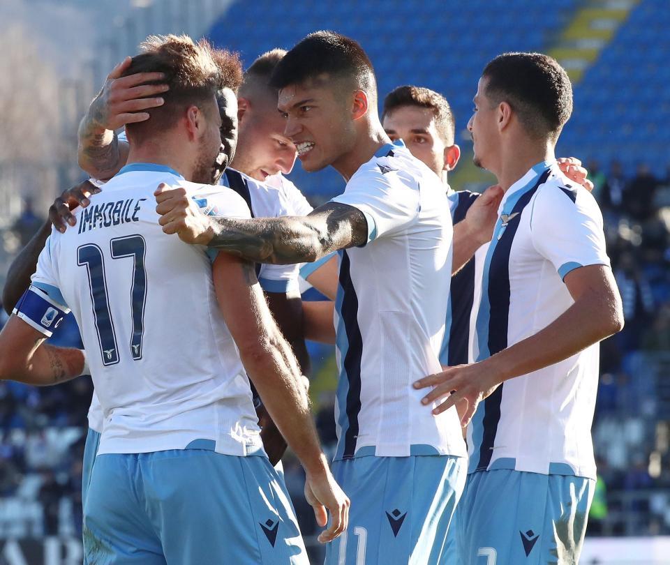 Lazio venció 1-2 a Brescia y llegó a 9 triunfos consecutivos en la Serie A | Serie A 2