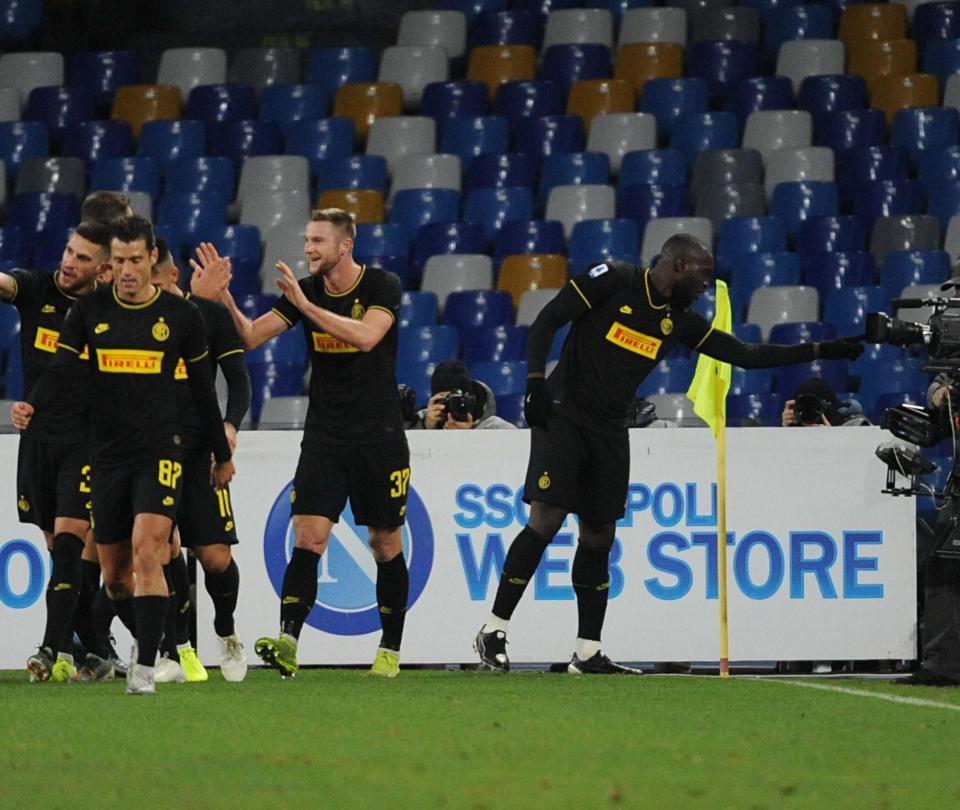 Inter vs Napoli Serie A 2020: goles, resultado y resumen del partido | Serie A 2