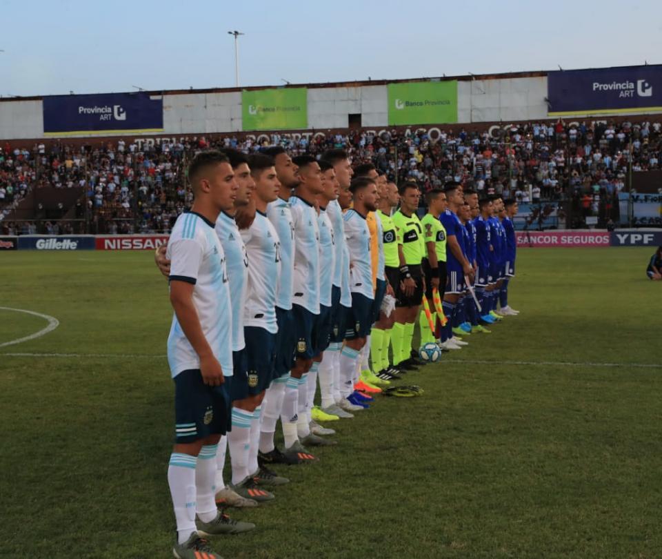 Argentina y Paraguay empataron 1-1 en amistoso como preparación para el Preolímpico | Selecciones Nacionales 1