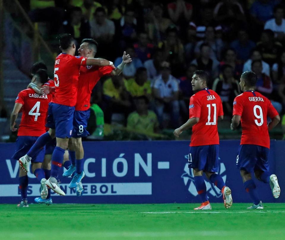 Colombia tendría problema contra Chile en eliminatoria por coronavirus | Selección Colombia 1