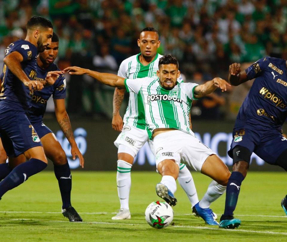 Atlético Nacional: Andrés Andrade lamento por empate con Cali en Liga Betplay 2020 | Futbol Colombiano | Liga BetPlay 1