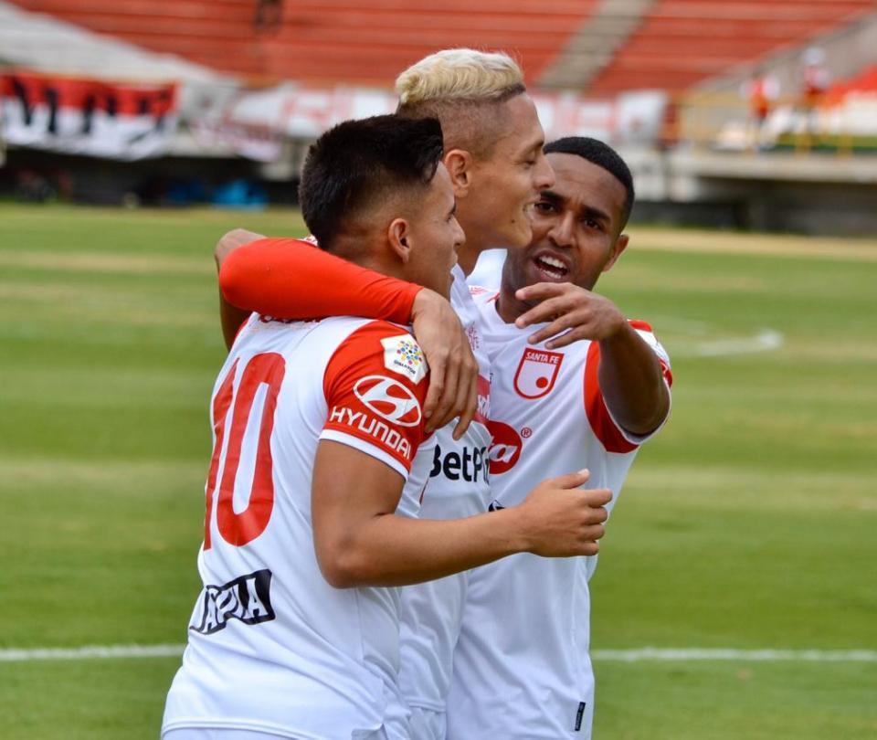 Santa Fe vs Patriotas: video de goles, resultado y detalles del partido Liga Betplay 2020   Futbol Colombiano   Liga BetPlay 1