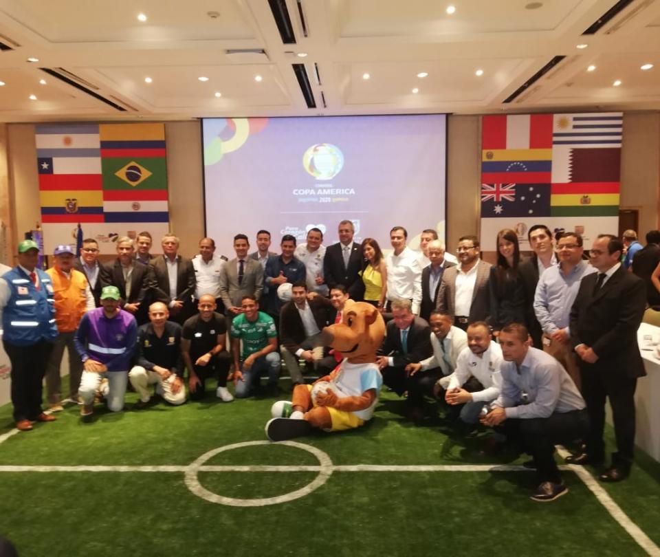 Cali instaló su Comité Organizador de Copa América 2020 | Copa America 2020 Argentina - Colombia 1
