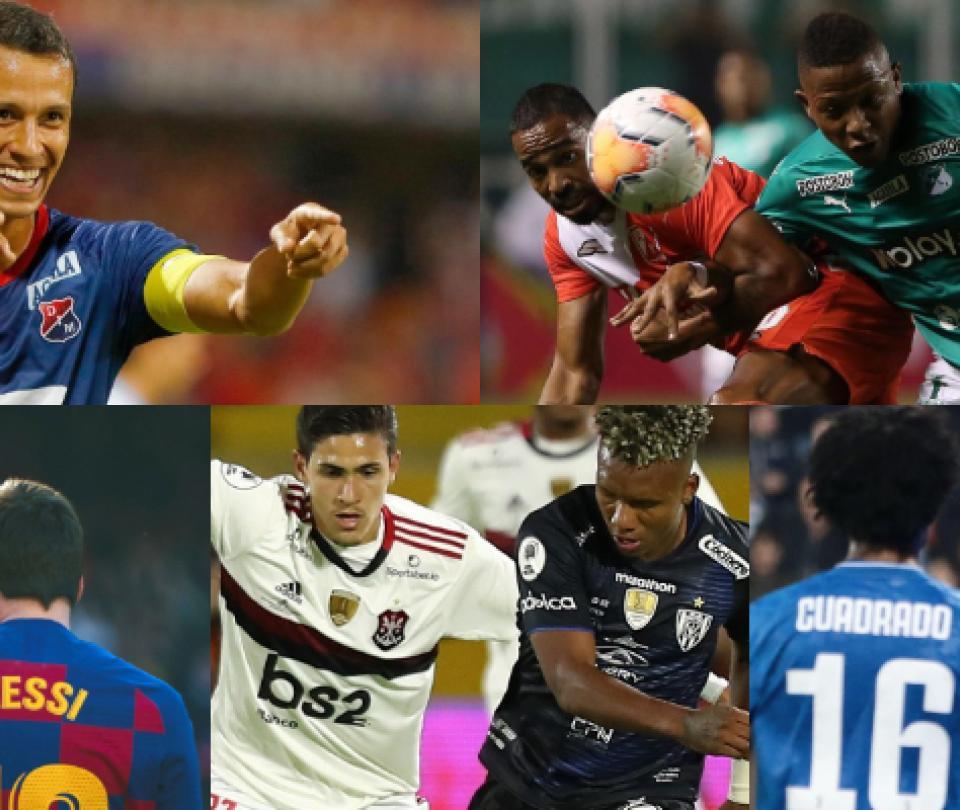 Champions, Libertadores, sudamericana: mejores partidos y horario | Futbol Colombiano | Liga BetPlay 1