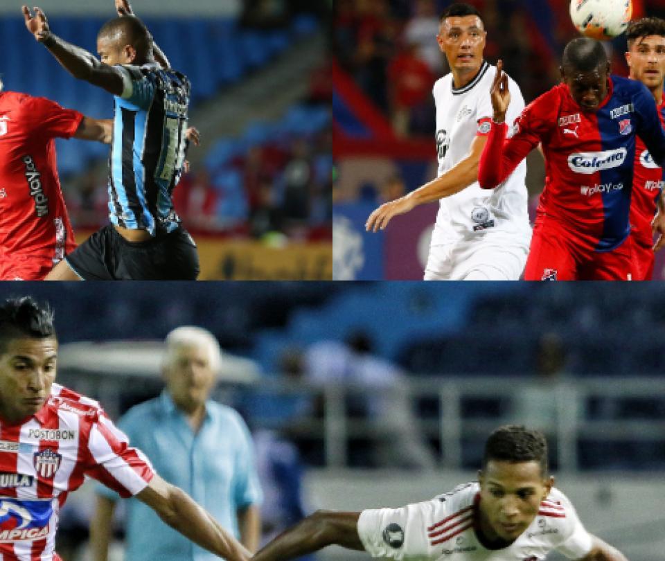 Confirmado: Partidos de América, Junior, Medellín Copa Libertadores | Copa Libertadores 1