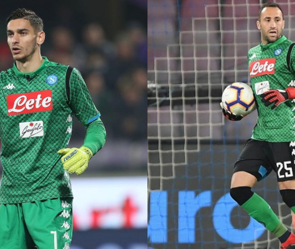Alex Meret: podría salir del Napoli, tras la continuidad de David Ospina como titular | Otras Ligas de Fútbol 2