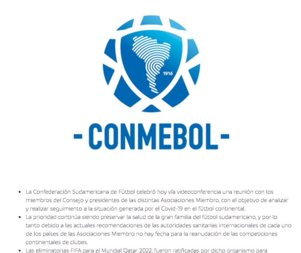 Conmebol hoy: 14 millones de dólares para 400 clubes de Suramérica | Últimas noticias | Selecciones Nacionales 1