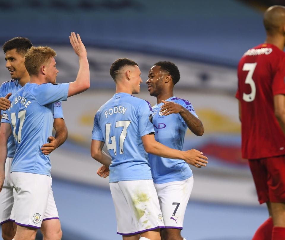 ¡Tremenda goleada! Manchester City opacó y humilló al Liverpool 2
