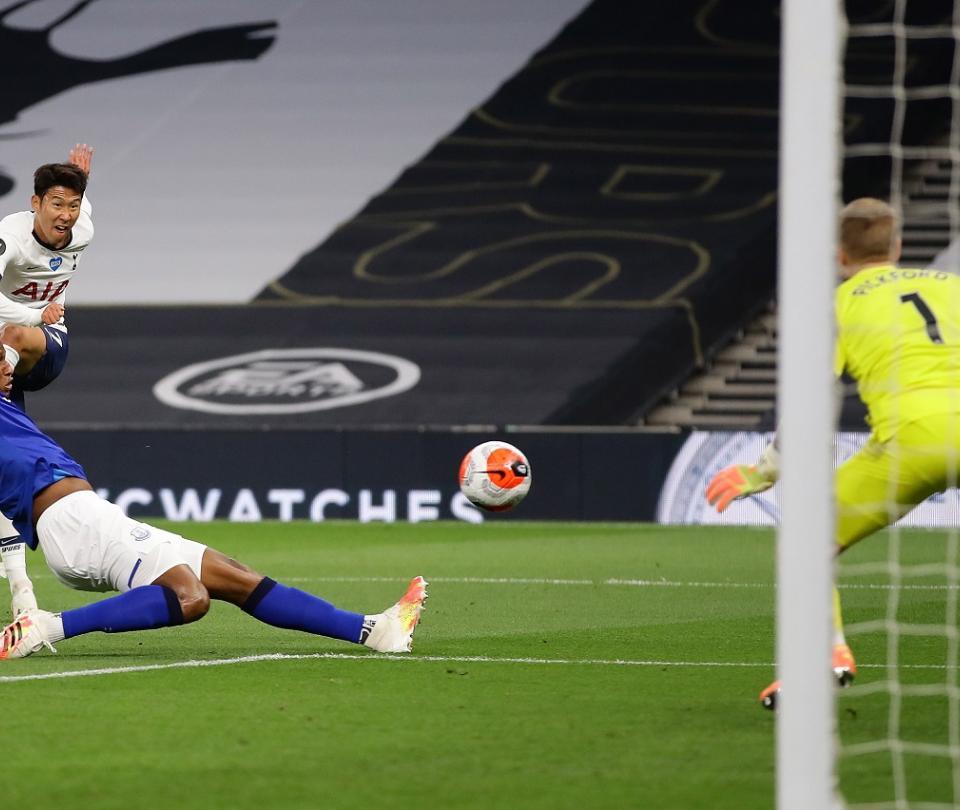 Tottenham vs Everton Premier League Yerry Mina y Davinson Sanchez | Colombia hoy | Premier League 1