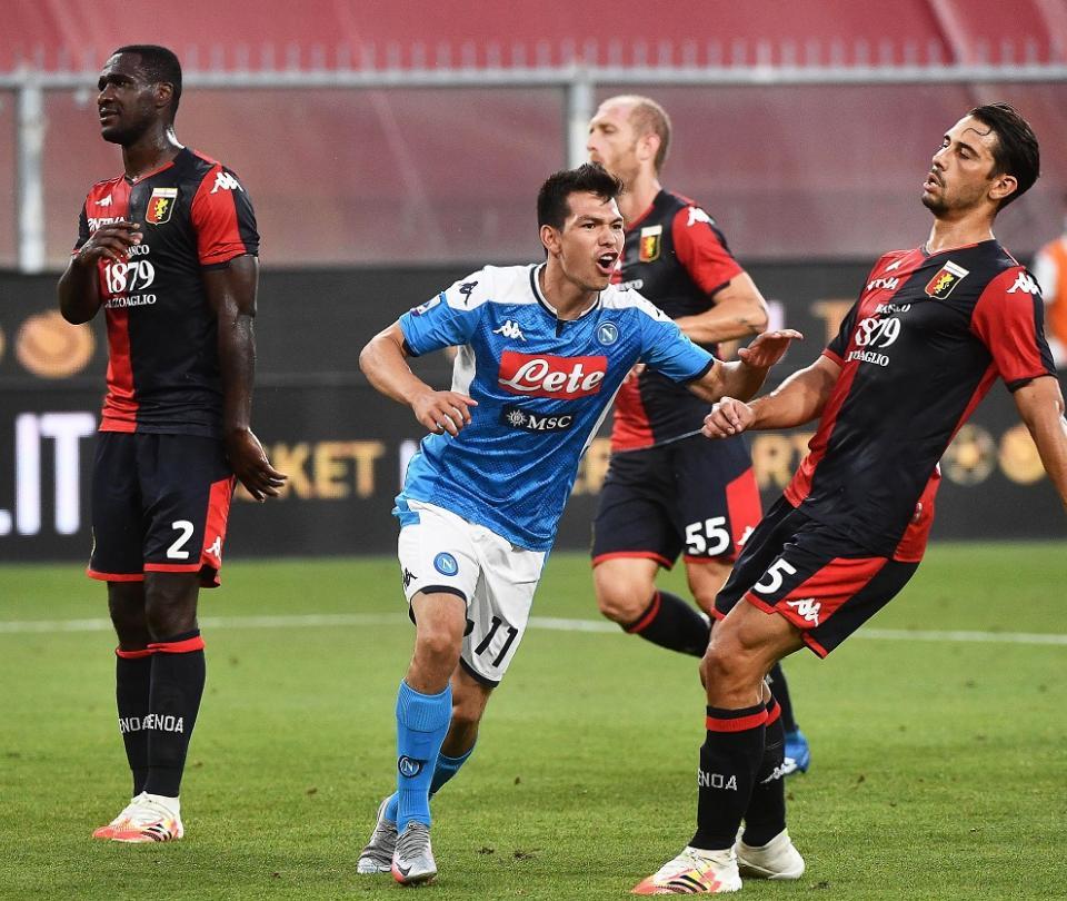 Napoli vs Génoa: resultado, goles y detalles del partido en Serie A 2020 | Serie A 2