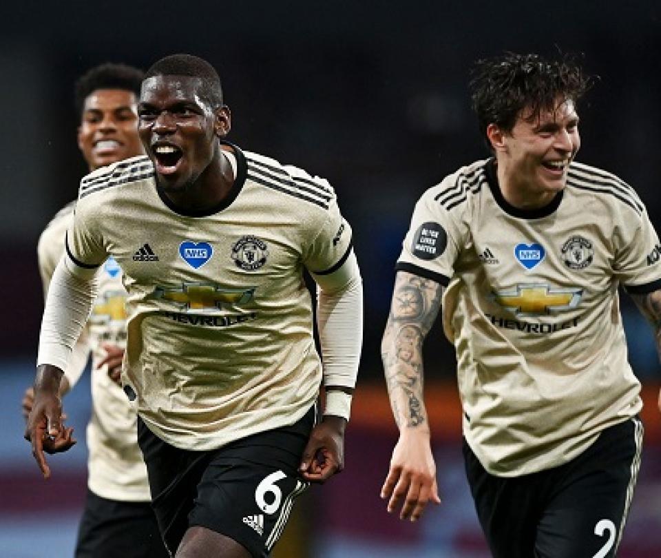 Aston Villa vs Manchester United Goles: Pogba-Fernandes, la dupla que pone a soñar a los diablos rojos | Premier League 2
