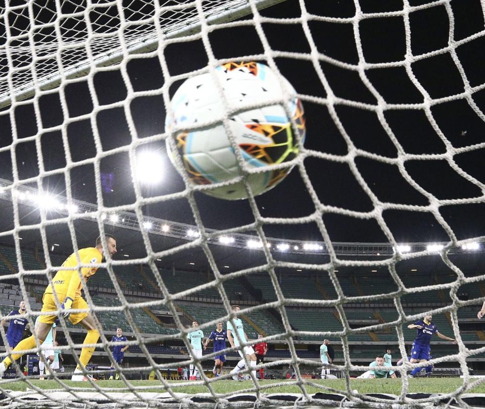 Inter de Milán vs Hellas Verona: resumen, goles y detalles del partido 2020 | Serie A 2