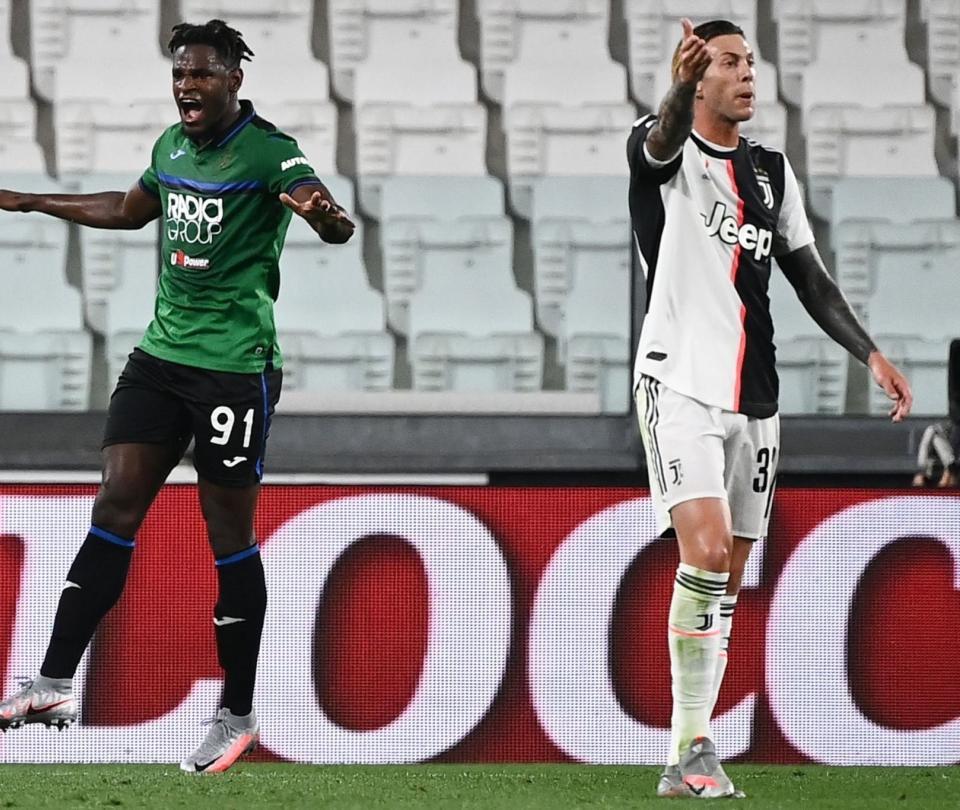 Juventus vs. Atalanta goles: Duván Zapata anotó en el empate 2-2 | Colombianos en el Exterior 2