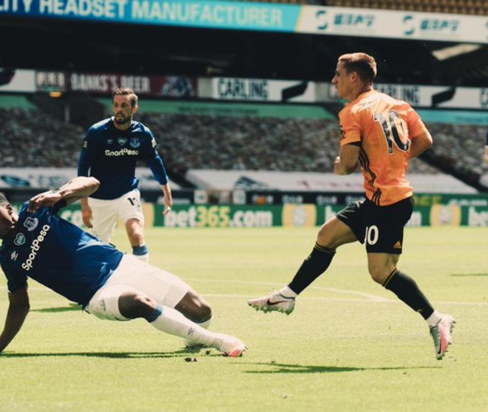 Premier League: Wolverhampton vs Everton, resultado, goles, Mina | Premier League 2