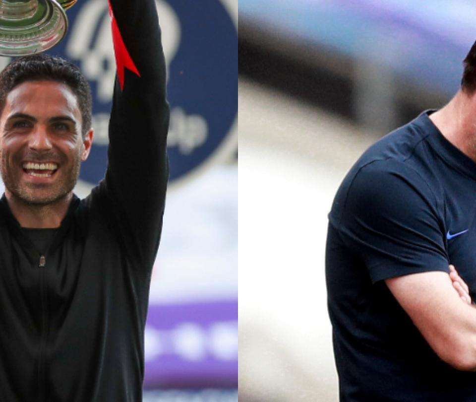 Datos sobre Arteta y Lampard que dejó una nueva final de FA Cup 1