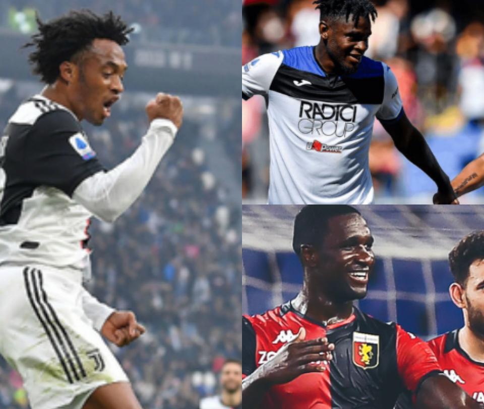 Colombianos en Serie A 2019-2020: cifras, goles y récords en Italia | Noticias Colombia hoy | Serie A 1