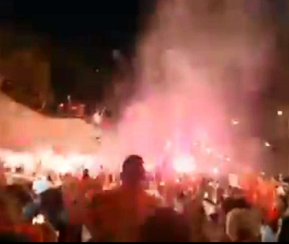 Hinchas de América de Cali en las calles de Brasil para partido de Copa Libertadores | Coronavirus noticias hoy | Copa Libertadores 2