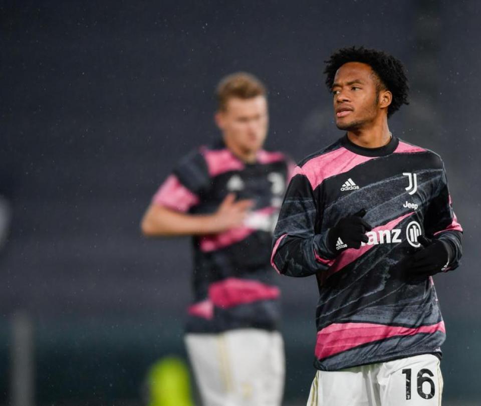 ¡Desilusionado! Cuadrado habló de su expulsión en goleada a Juventus 1