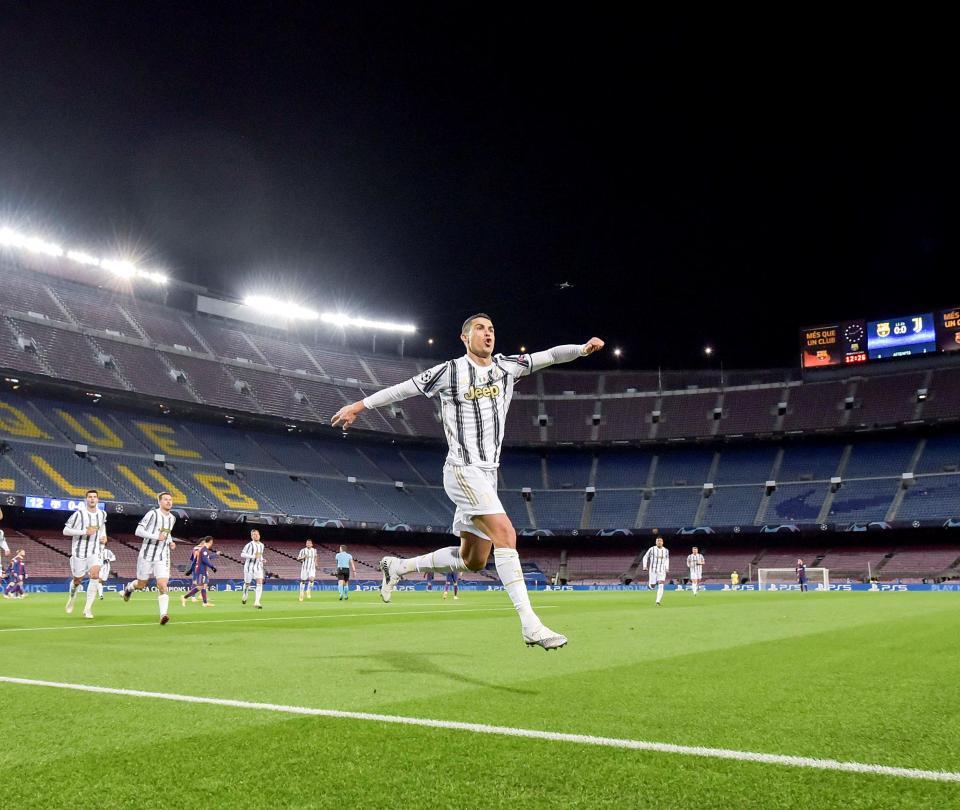 Cristiano Ronaldo tiene el récord de más goles marcados para clubes y países en la historia del fútbol | Serie A 1