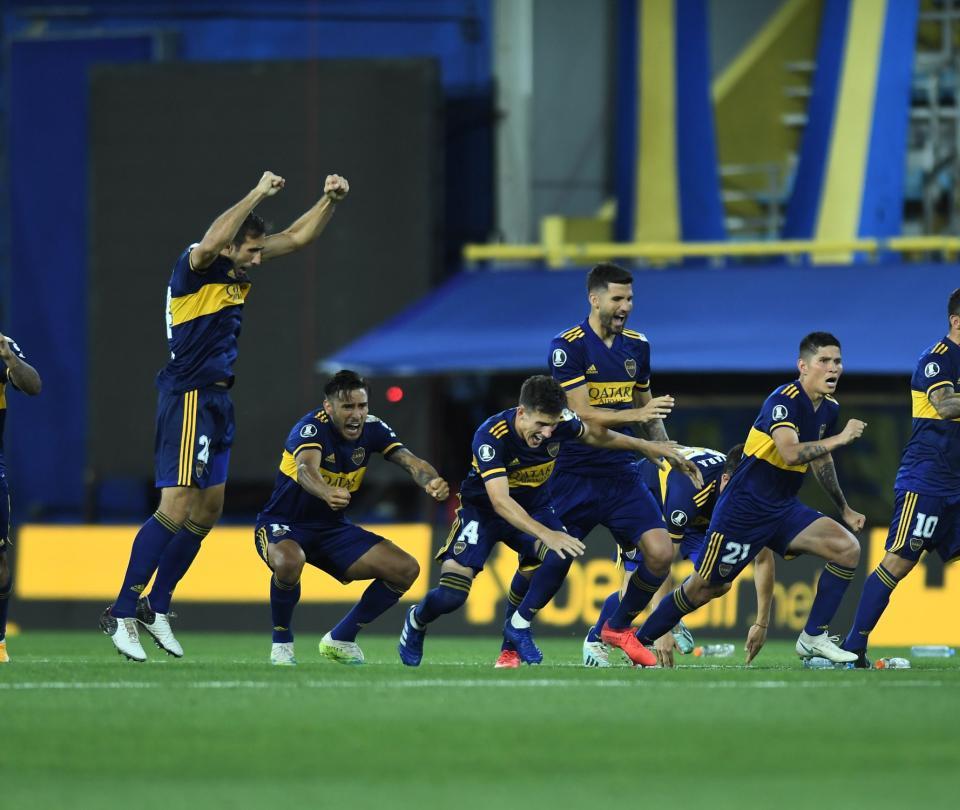 ¡Con sufrimiento! Así avanzó Boca Juniors en la Copa Libertadores 1