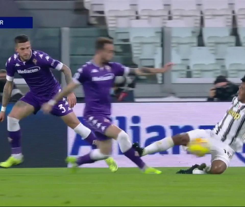 ¿Qué pasa, Cuadrado? Expulsado con Juventus por un fortísimo planchazo 1