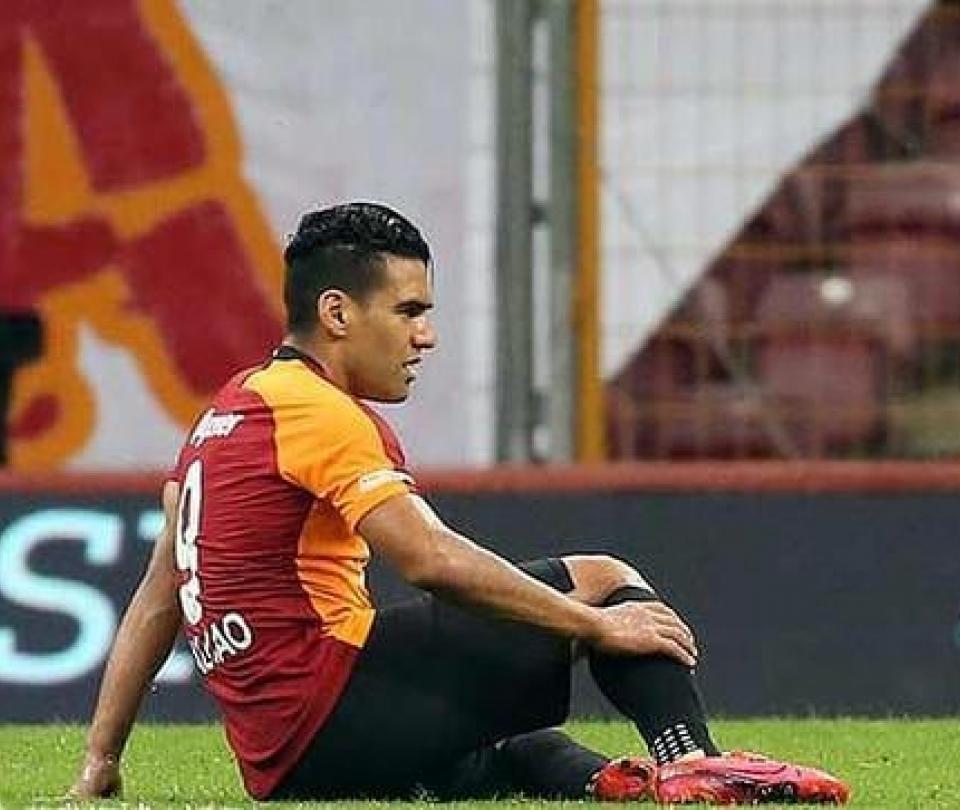 Galatasaray: confirman nueva lesión de Falcao, recaída, baja indeterminada | Colombianos en el Exterior 1