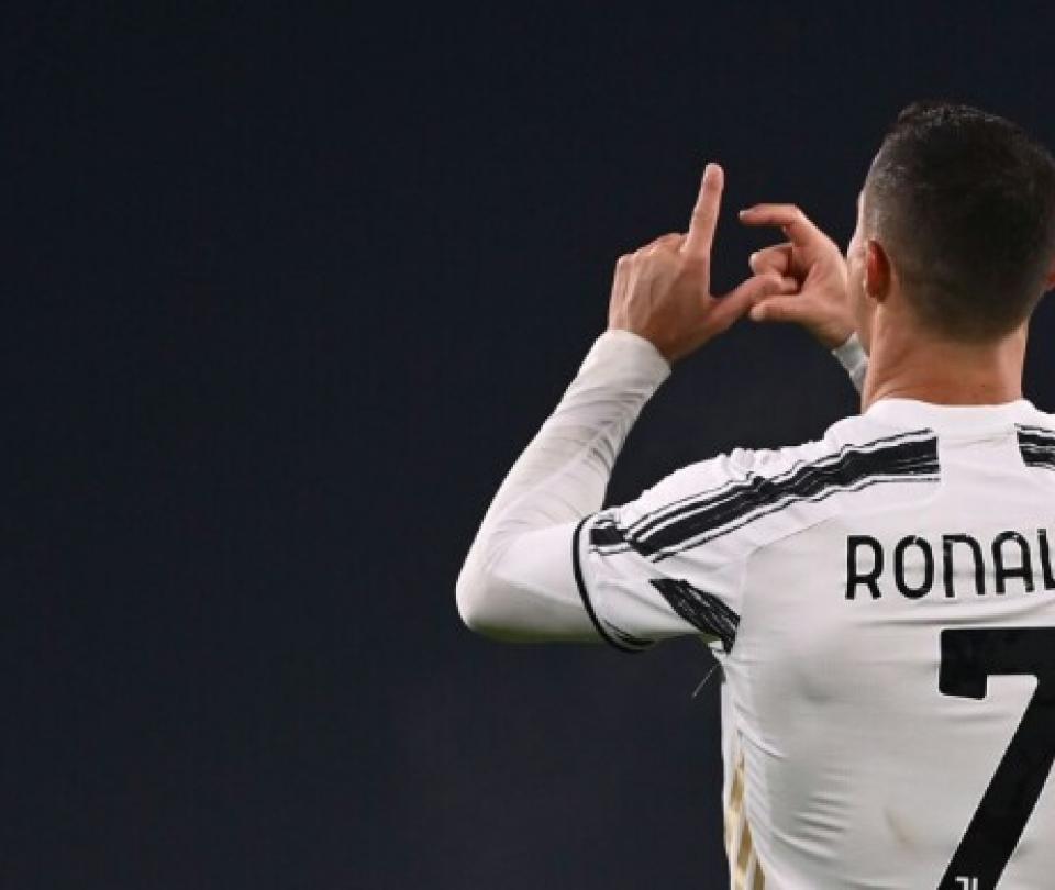 Video gol Cristiano Ronaldo: primer gol en el 2021, Serie A Juventus vs Ud   Otras Ligas de Fútbol 1