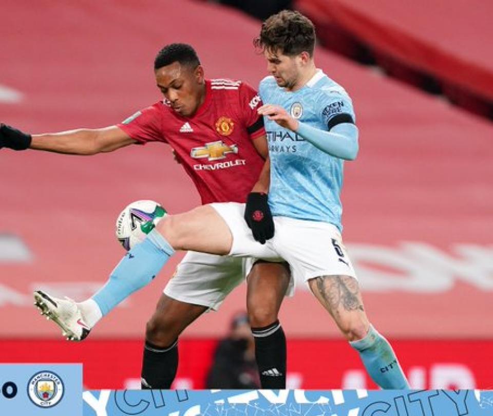Carabao Cup: Manchester United vs Manchester City, resultado, goles, detalles, finalista | Premier League 1