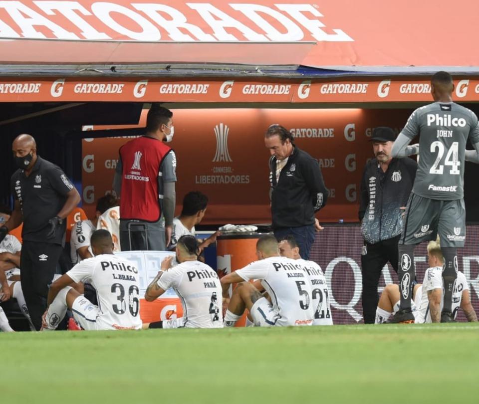 Boca Juniors vs Santos FC Copa Libertadores jugadores Covid 19 contagios | Copa Libertadores 1