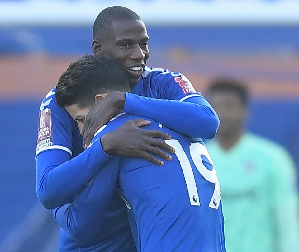 EN VIVO: Everton enfrenta a Leicester con James y Mina 'afilados' 1