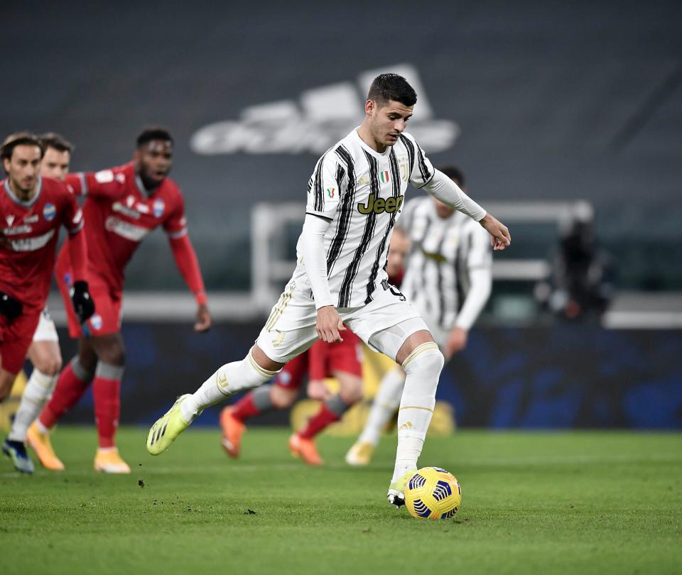 Cuadrado sin acción: Juventus goleó por Copa de Italia, vea los goles 1