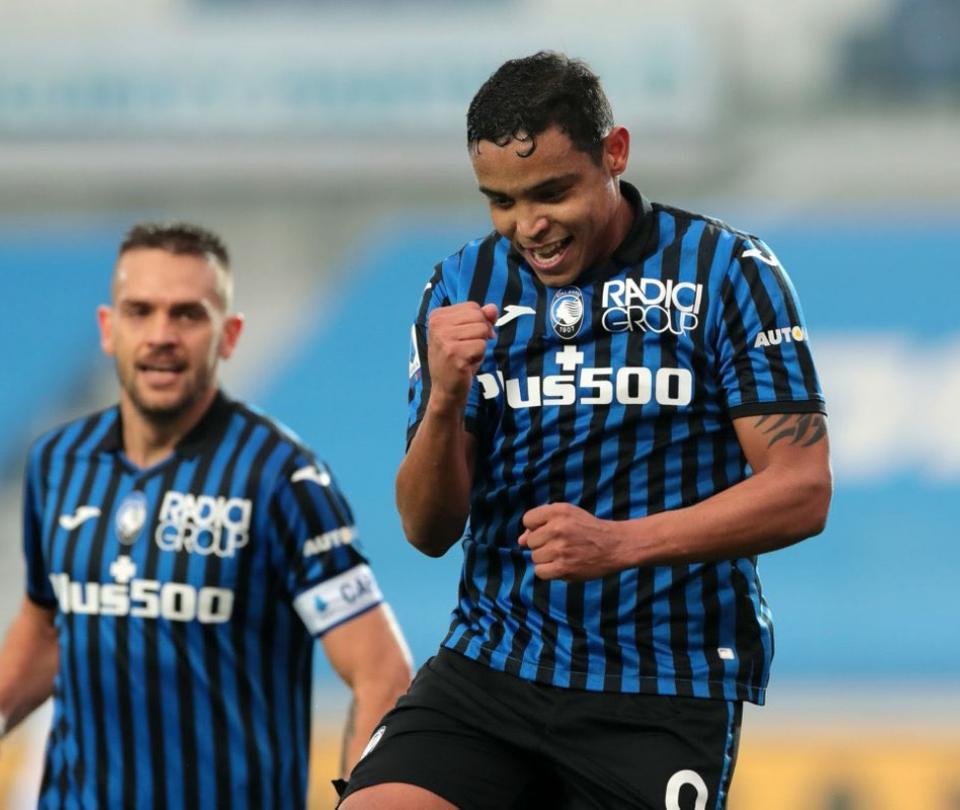 Luis Fernando Muriel supera a Cristiano Ronaldo, Lukaku y Zlatan en promedio de gol en Serie A | Serie A 1