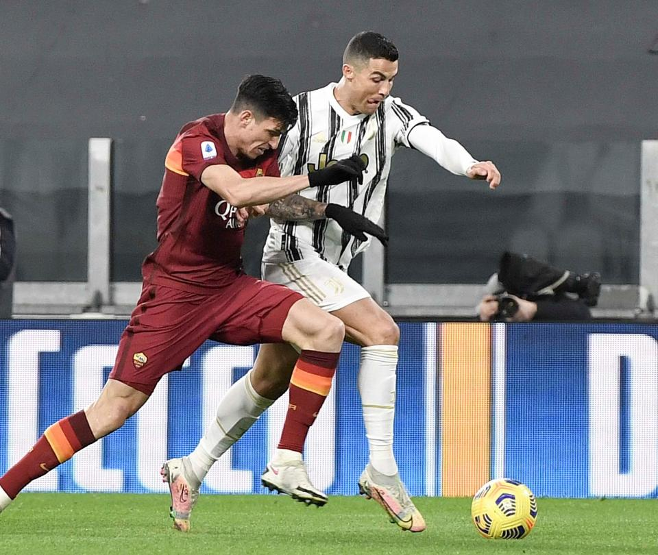 Juventus venció a Roma: gol de Cristiano Ronaldo y acción de Cuadrado 1