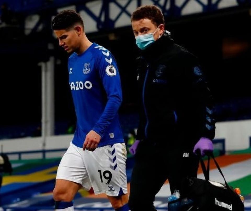 James Rodríguez habla de su lesión y ausencia en Everton ¿Cuándo vuelve a jugar en Inglaterra? | Colombianos en el Exterior 1