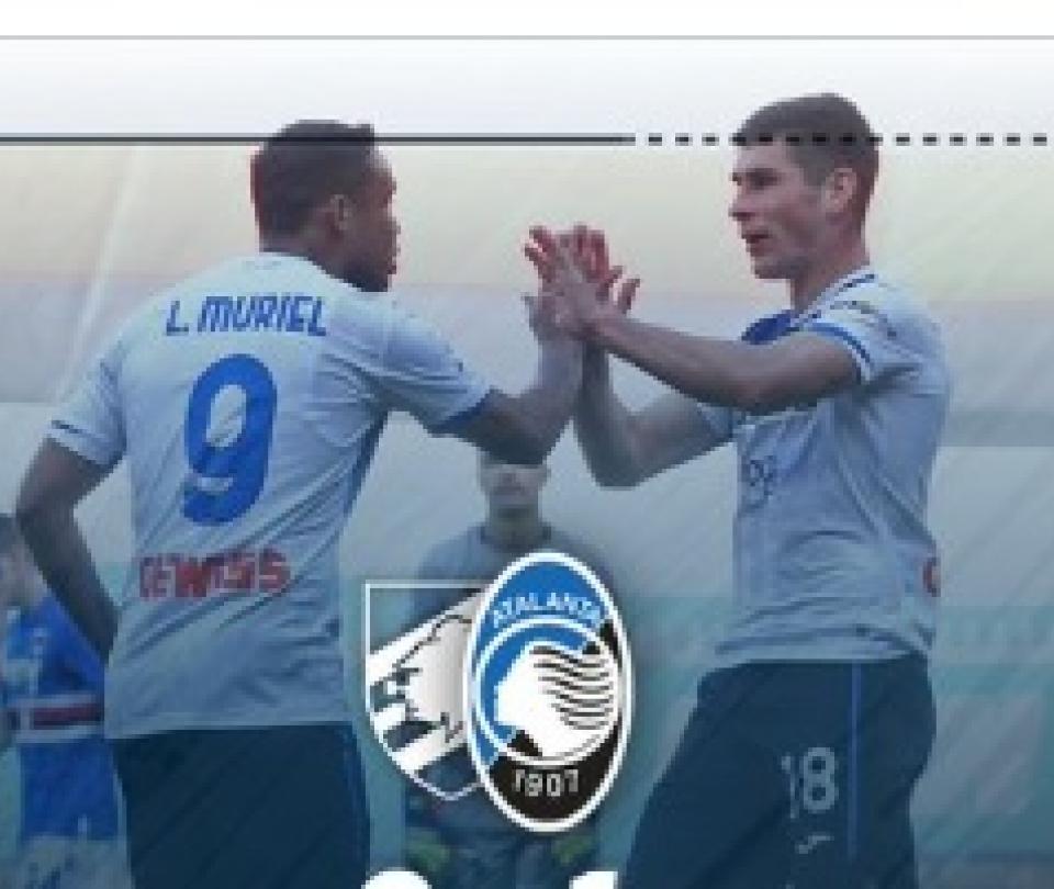 Serie A: Sampdoria vs Atalanta, resultado, goles, detalles, asistencia de Muriel | Serie A 1