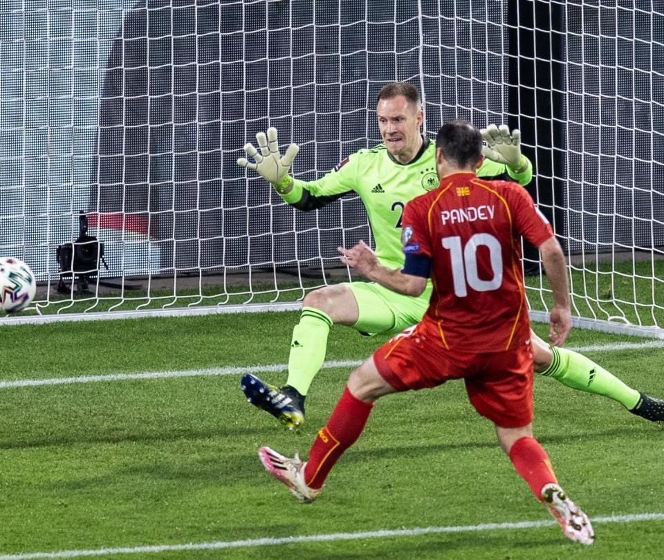 Eliminatorias europeas Catar 2022: Alemania perdió 1-2 con Macedonia del Norte | Mundial Qatar 1