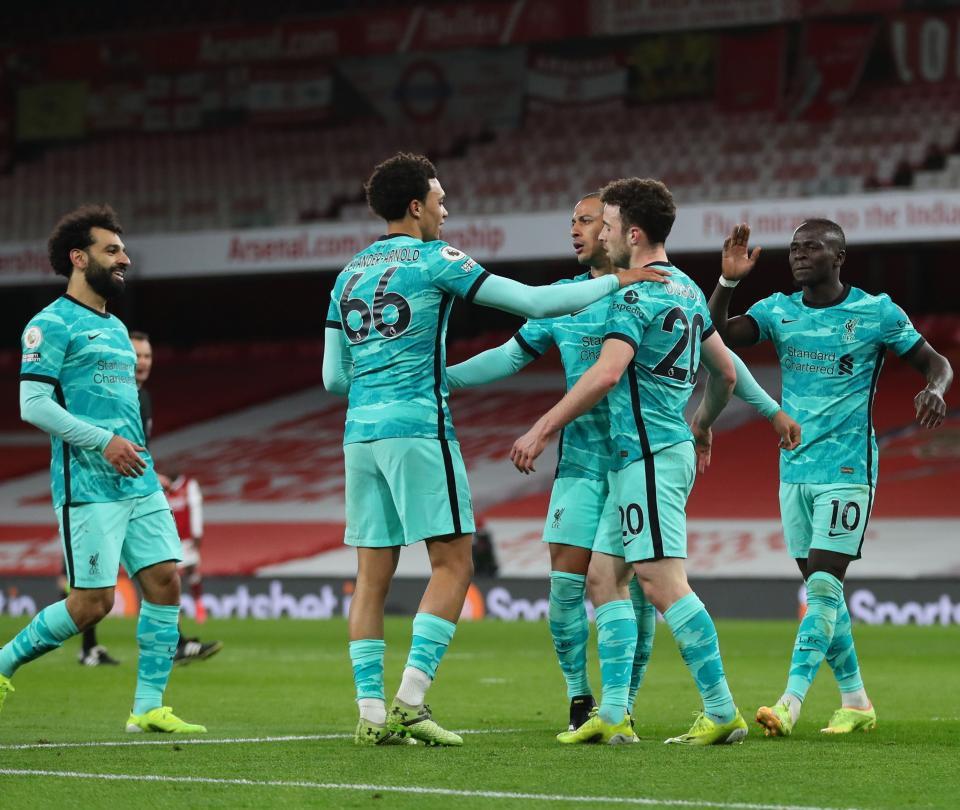 Arsenal 0-3 Liverpool resumen Premier Lgegue   Premier League 1