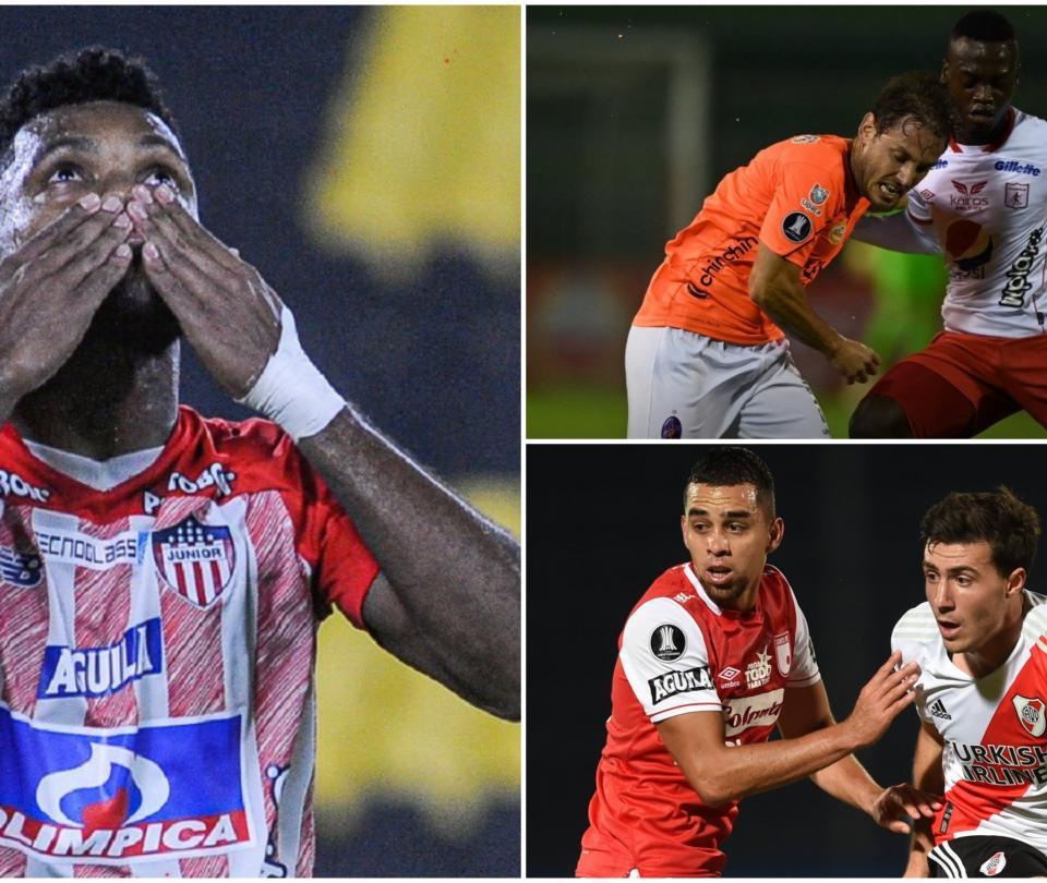 Libertadores: balance de equipos colombianos frente a brasileños y argentinos | Copa Libertadores 1