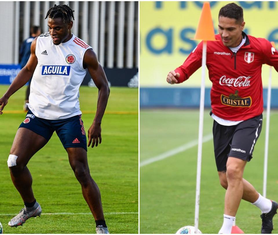 Eliminatorias: así llegan Colombia y Perú en materia ofensiva: cifras de sus delanteros | Selecciones Nacionales 1
