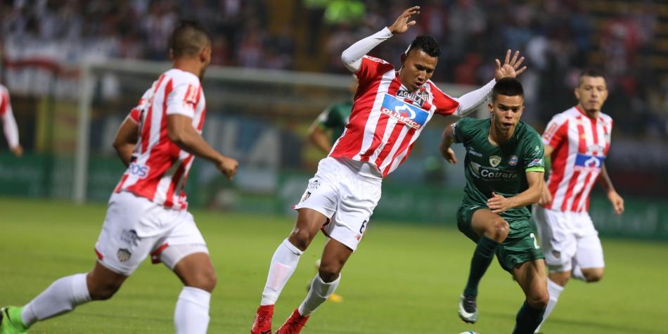 Resultado del partido entre Equidad vs Junior en la fecha 11 de la Liga  I-2018  91a276b572f41